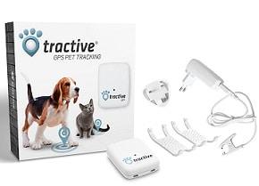 système de localisation de chien de la marque Tractive